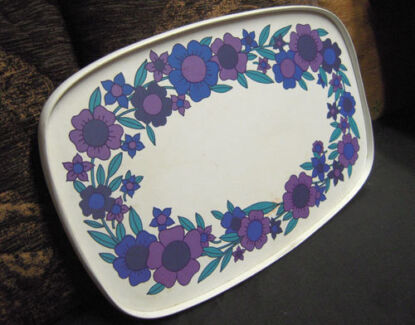 60's Tea Tray $25 Albion Brisbane North East Preview
