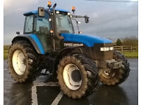 2001 New Holland TM165 Tractor - Low Hours, Serviced
