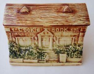 """Vintage McCoy """"Cookie Bank"""" cookie jar $75"""