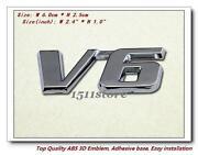 Toyota V6 Emblem
