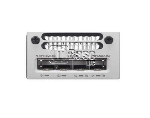 2x Cisco C3850-nm-2-10g Gigabit Ethernet Module + 1x Spa-1x10ge-l-v2 Card