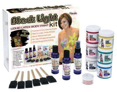 Liquid Latex Fashions Black Light Body Paint - Black Light Body Paint