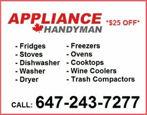 #1 Appliance Repair Service GTA - Reliable Fast & Affordable
