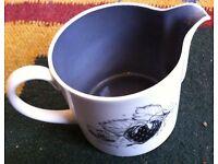 Susie Cooper Black Fruit Tea Set