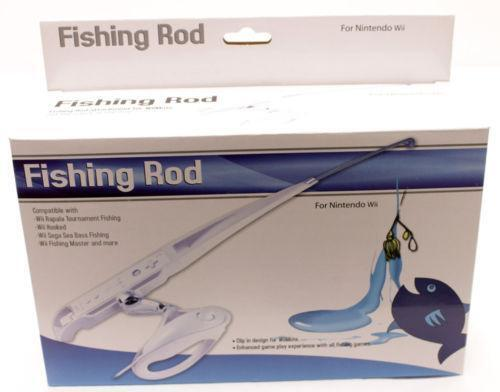 Wii fishing rod video games consoles ebay for Wii fishing rod