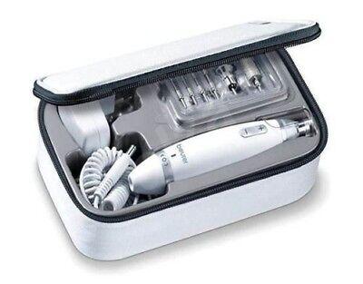 Beurer MP62 Manicura Pedicura Set Con 10 Alta Calidad Accesorios & Luz...