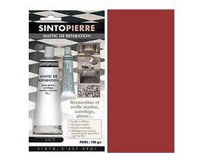 mastic reparation pierre marbre rouge sintopierre granit brique tomettes. Black Bedroom Furniture Sets. Home Design Ideas