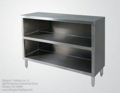 15x60 Stainless Steel Commercial Dish Cabinet