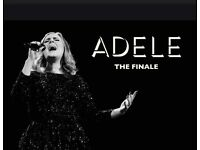 ADELE CONCERT : 6 tickets for her last concert in London on the 02 July at Wembley Stadium