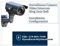 Surveillance Camera - Video Intercom - Computer Network Cabling