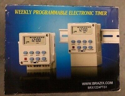Programmable 12v Dc Timer Switch - 15 Amps Programmable 12v Dc Timer Switch - 15
