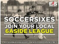 Barry Soccersixes! New teams needed!