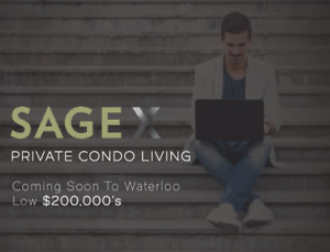 Sage 10 - Private Student Living in Waterloo with Leaseback!