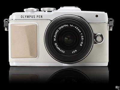 Olympus E-PL7 Digital SLR Camera 14-42mm M.Zuiko EZ Pancake Lens Kit NEW...