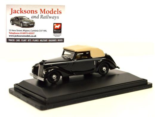 Oxford 76ASH004 Armstrong Siddeley Hurricane Black 1:76 Scale