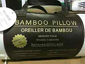Brand New Bamboo King Size Memory Foam Pillow $35!