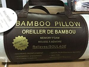 Brand New Bamboo King Size Memory Foam Pillow $30!