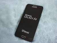 SAMSUNG A3 17 16GB O2 for sale  Leicestershire