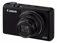 Canon PowerShot S90 - Almost new condition - Lens and sensor professionally cleaned