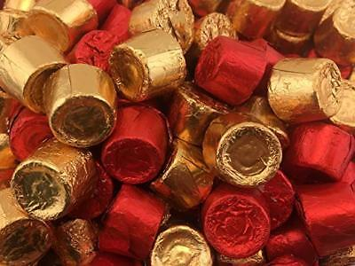 ROLO Milk Chocolate Chewy Caramels Candy, Gold and Red foils, Bulk Pack ()