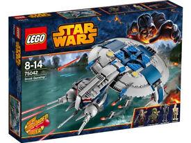 Lego Star Wars 75042 *Brand New & Sealed*