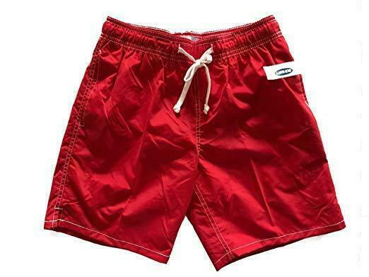 Old Navy Men's Swim Trunks Red Swimming Suit Pool Beach Lake