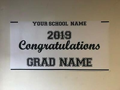 Large 2019 Graduation Banner Custom Personalized 24