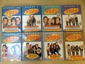Unopened all 8 seasons of Seinfeld TV series collection