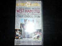 west ham utd v other london clubs vhs