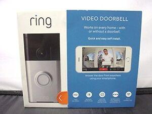 Ring video doorbell  neuf