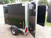 Karting Trailer Tickners GP 7' x 5' x 5' in Black