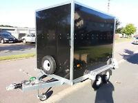 New Tickners GB 86 Black Box Trailer 8' x 5' x 6'