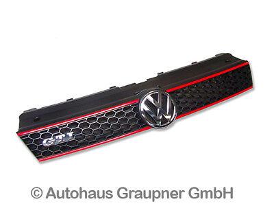Für VW Polo 6R Stoßstangenfüllstück Kühlergrill Sportgrill Grill ohne Emblem