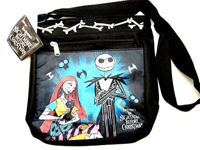 Disney NIGHTMARE BEFORE CHRISTMAS Messenger Bag Jack Skellington Cross Body Bag