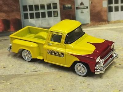 HOT ROD 1958 58 GMC Stepside Pick-Up Plumbing Truck 1/64 Scale Limited Edt. S4