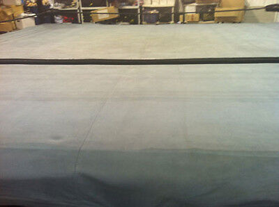 Used 18 Foot Professional Wrestling Ring Canvas, Boxing MMA UFC 18' WWE TNA WWF