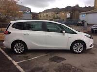 2017 Vauxhall Zafira Tourer 1.4T Design 5 door Petrol Estate