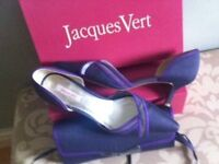 Jacques Vert Matching Shoes and clutch bag