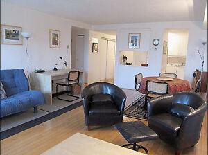 Haute ville - St. Sacrement: Condo superbe (meublé) 950 pi2