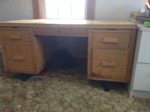 For Sale:  Solid Wood Desk
