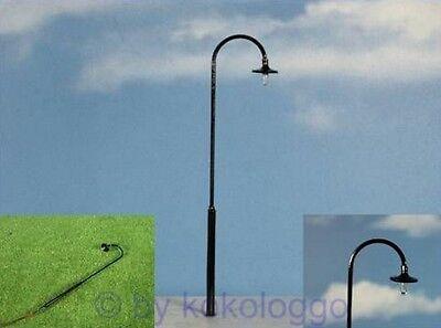 S279 - 5 Stück LED Bogenlampen 1-flammig 13,5cm Bogenleuchten Straßenlampen