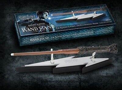Harry Potter Official Lightning Bolt Wand Display Holder for Light Up Wands & - Harry Potter Lighting Bolt