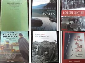 Welsh-interest book sale - £5 each or £12.50 for 3 (Lot #07)