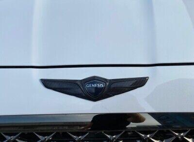 Front Hood Emblem For 2017~2020+ Genesis G70 (Carbon)
