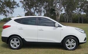2012 Hyundai ix35 LM2 SE Creamy White 6 Speed Sports Automatic Wagon Bundaberg West Bundaberg City Preview