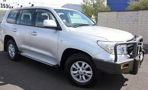2008 Toyota Landcruiser VDJ200R GXL Silver 6 Speed Sports Automatic Wagon Moonah Glenorchy Area Preview