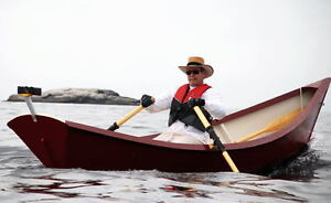 Rowing Dory Traditional Design High Tech Construction
