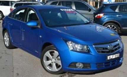 2010 Holden Cruze JG CDX Blue 6 Speed Auto Seq Sportshift Sedan Phillip Woden Valley Preview