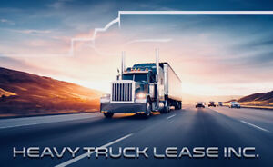 HEAVY TRUCK FINANCING & LEASING - PRE APPROVALS - LOW PAYMENTS