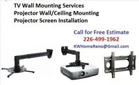 Home Entertainment Centre & TV Wall Mounting & Projector Ceilin